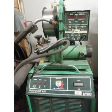 Used L-tec Esab Linde DigiPulse 450 AMP Power Supply Wire Feed MIG Welder
